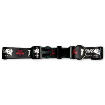 Thrasher Dog Collar - Black