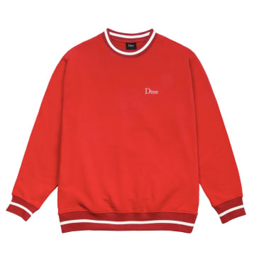 Classic French Terry Crewneck - Red
