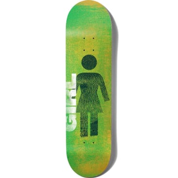 Girl Skateboards Sean Malto Roller OG Skateboard Deck - 8.25