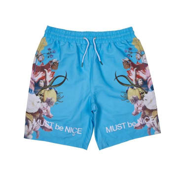 Rip N Dip Heavenly Bodies Swim Shorts - Light Blue