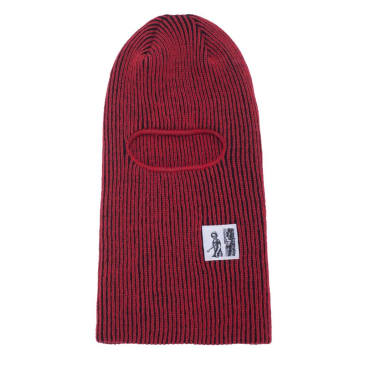 Hockey Battery Face Mask Beanie - Red