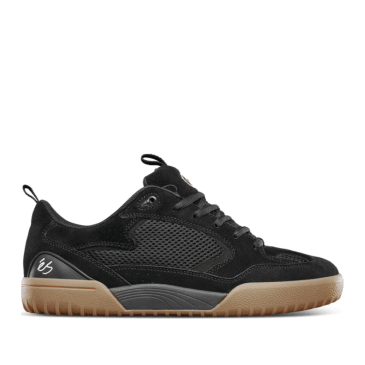 éS Quattro Skate Shoes - Black / Gum