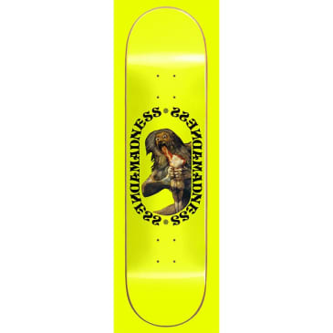 """Madness Skateboards - 8.0"""" Son R7 Deck - Neon Yellow"""