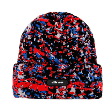 Dime Speckle Beanie - Red