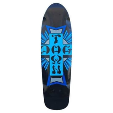 Dogtown Skateboards Mini Cross Logo Cruiser Deck - 7.625 x 26.5