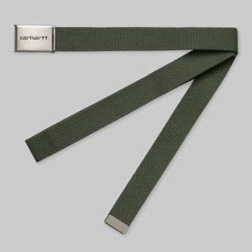Carhartt WIP - Chrome Clip Belt - Dollar Green