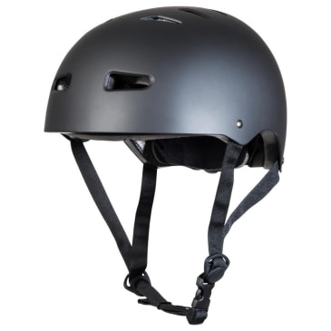 Sushi - Youth Skateboard Helmet - Matt Black