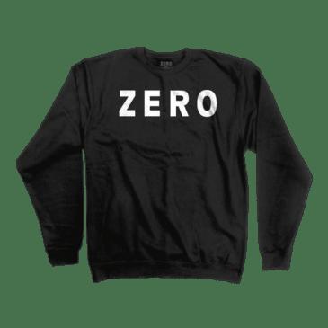 Zero Army Crewneck- (Black)
