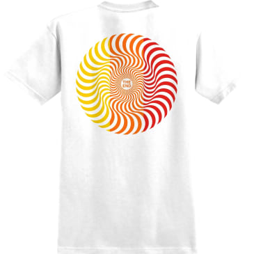 SPITFIRE YOUTH Classic Swirl Tee White/Red