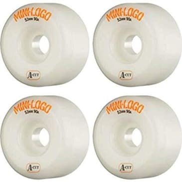 Mini Logo A-Cut Wheels 53 MM 90A (Soft)
