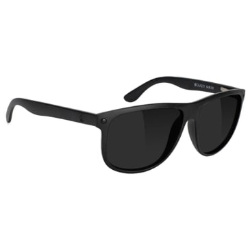 Glassy - Cole Polarized Sunglasses - Black