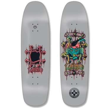 Black Label Lucero X-2 Deck 8.88″ x 32.25″ (Gray Dip)