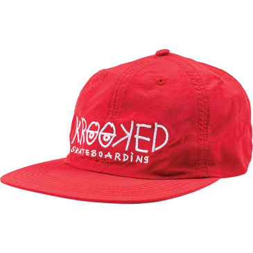 Krooked Eyes Hat (Dark Red)