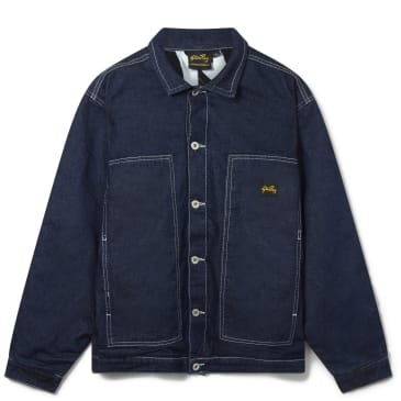 Stan Ray Lined Box Jacket - One Wash Denim