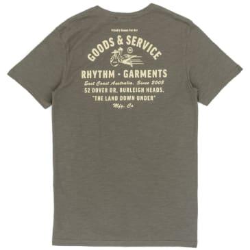 Rhythm Clothing Down Under T-Shirt - Olive