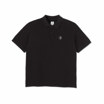 Polar Skate Co Polo Shirt - Black