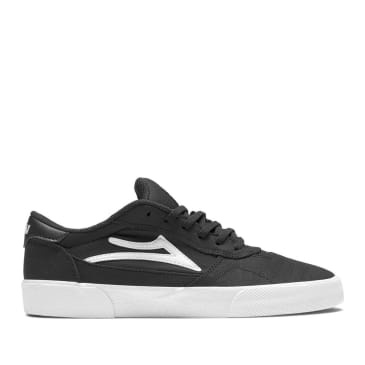 Lakai Cabridge Skate Shoes - Black Textile