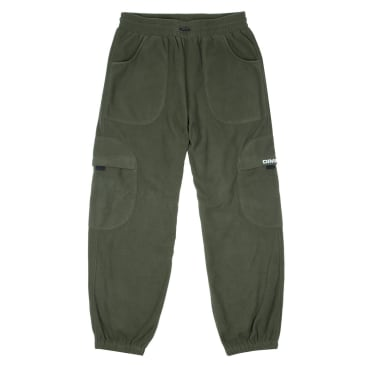 Dime Fleece Round Cargo Pants - Olive