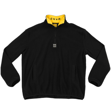 WKND - Greenwich Fleece - Black/Yellow