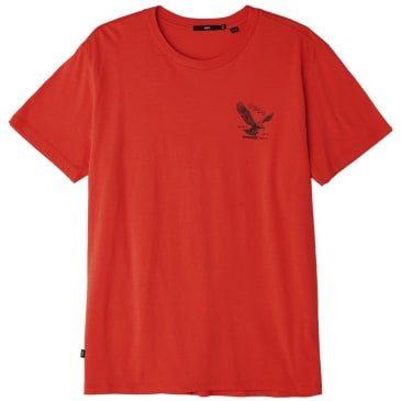 OBEY Eagle Switchblade T-Shirt - Red
