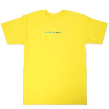 The Quiet Life Rotating Square T-Shirt - Yellow