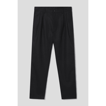 Stan Ray - Double Pleat Chino (Black Wool)