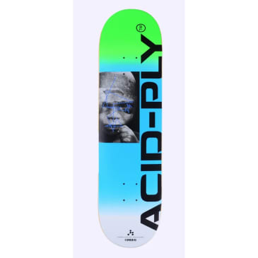 Quasi Skateboards Chembaby Blue Deck
