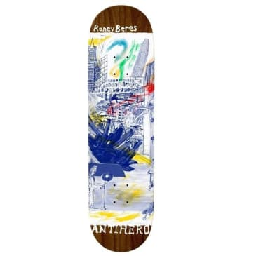 Anti Hero Deck Beres SF Then And Now 8.12""
