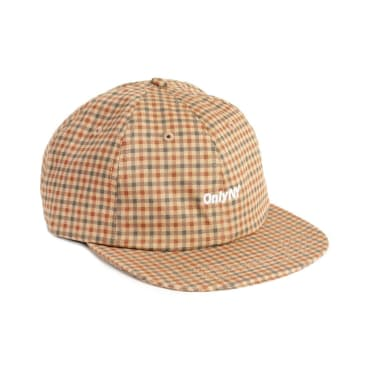 "ONLY NY-""CORE LOGO CAP""(KHAKI PLAID)"