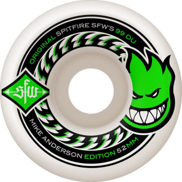 Spitfire Anderson Wides 52mm Wheels