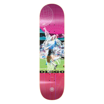 """Cleaver Skateboards - 8.0"""" Bucchieri Hand Of God Deck (Assorted Stains)"""