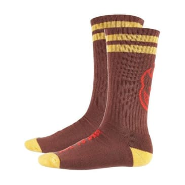 Spitfire Sock Heads Up (Dark Red/Yellow/Red)