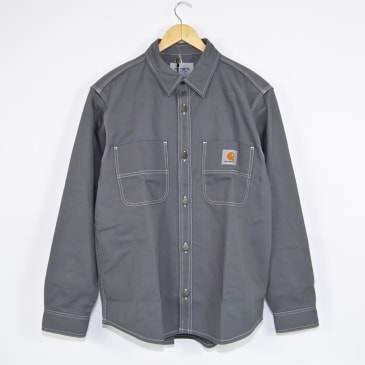Carhartt WIP - Chalk Shirt Jacket - Shiver (Rigid)