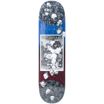 "Madness Skateboards - 8.125"" Captivity Pospsicle Slick Deck (Blue / Violet)"