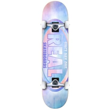 """Real """"Oval Watercolor"""" Complete Skateboard 8"""""""