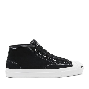 Converse CONS Jack Purcell Pro Mid Shoes - Black / White / Black