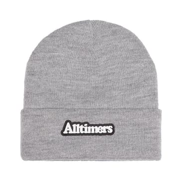 Alltimers - Broadway Rubber Beanie - Grey