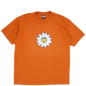 OBEY Daisy Icon T-Shirt - Pumpkin Spice