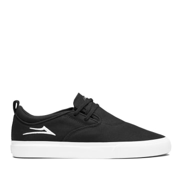 Lakai Riley 2 Canvas Skate Shoes - Black