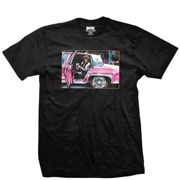 DGK Don't Spill My 'Yak T-Shirt - Black