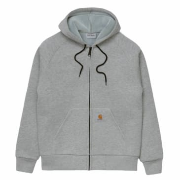 Carhartt WIP - Car Lux Hooded Jacket - Heather Grey/ Grey
