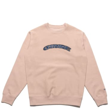 Chrystie NYC SWFC Twisted logo crewneck - Home Color