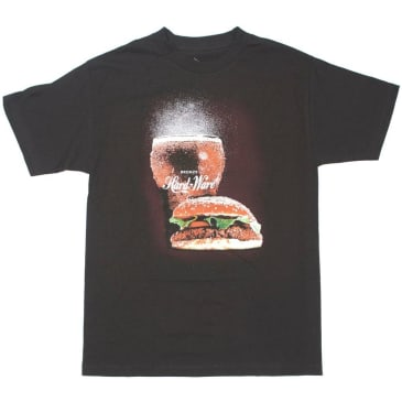 BRONZE BURGER TEE - BLACK
