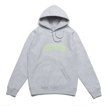 Chrystie NYC - Collegiate Logo Pullover Hoodie_Heather Grey