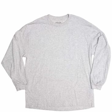 Isle Skateboards Sculpture Long Sleeve T-Shirt - Grey Heather