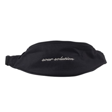 Sour Skateboards - Sour Solution Hipster Bag | Black