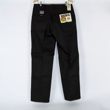 Ben Davis - Trim Fit Work Pants - Black