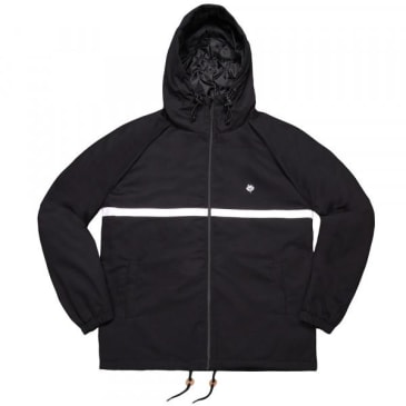 Magenta Skateboards - Hooded Coach Jacket Black