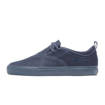 Lakai Riley Hawk II Shoes - Navy/Navy Suede