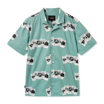 Butter Goods Cards Short Sleeve Shirt - Sage